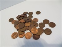 50 UNSEARCHED Wheat Pennies