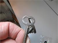 5 Antique Skeleton Keys