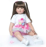 Reborn Baby Dolls Toddler Realistic Girl 24 Inch