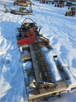 IH side mount sickle mower