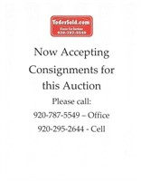 694 Consignment Auction