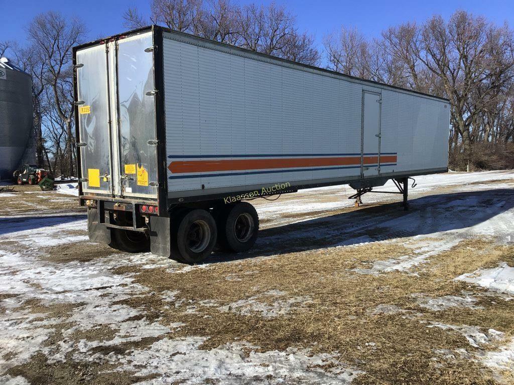 Dorsey 48 foot semi trailer