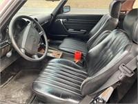 1986 Mercedes Benz 560 SL convertible