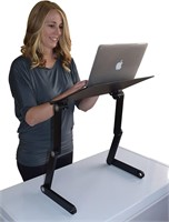 WorkEZ Best Adjustable Laptop Cooling Stand