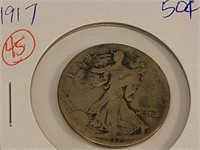 1917 Fifty Cent