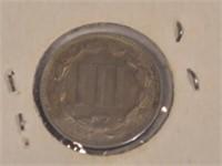 1869 Three Cent