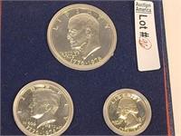 1976 Bicentennial Silver Proof Set