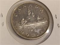 1951 Canada One Dollar