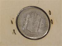 1883 Spain One Peseta