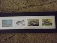 (9) WISCONSIN TROUT STAMPS