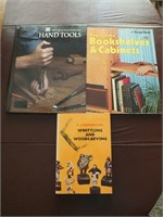 WOOD WORKING BOOKS, WHITTLING & WOODCARVING