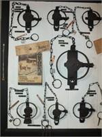 MOUNTED TRAPS INCLUDING TRIUMPH, KWIK GRIP, MORE