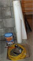 EXTENSION CORD, AIR PRESSURE FITTING, MORE