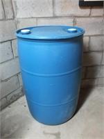 PLASTIC 55 GALLON BARREL