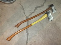 (2) AXES, VALLEY FORGE