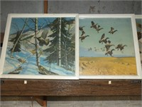 (5) VINTAGE BIRDS BY RICHARD E BISHOP