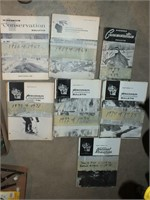 WISCONSIN CONSERVATION BULLETINS 1958-1976