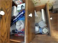PLASTIC WARE, STRAWS, SANDWICH  BAGS, MORE