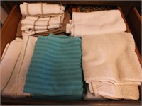 DISH TOWELS, PLACEMATS, MEASURING SPOONS, MORE
