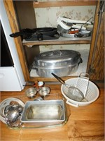 ROASTER, PANS, BREAD PANS, MORE