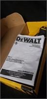 Dewalt 12v reciprocating saw no battery or