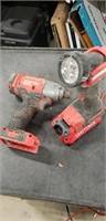 Misc. Used bag of Craftsman  cordless tools,