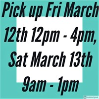 March 2nd - 10th Collectibles, Antiques, Household