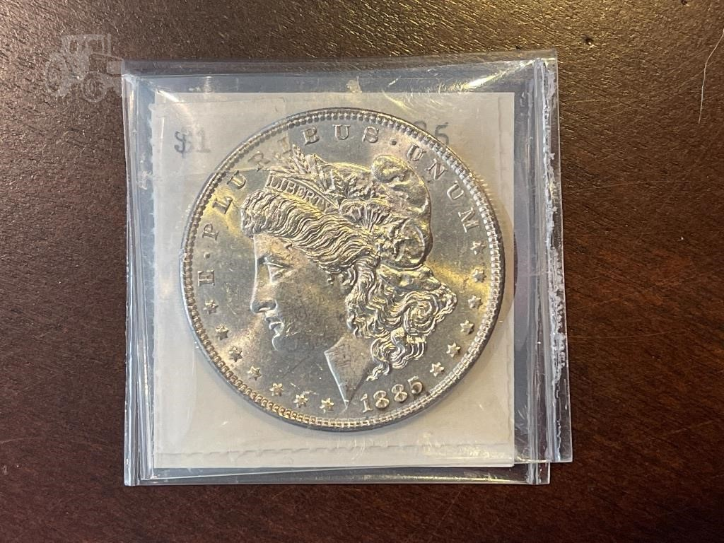 1885 Morgan Silver Dollar Other Items For Sale 7 Listings Tractorhouse Com Page 1 Of 1