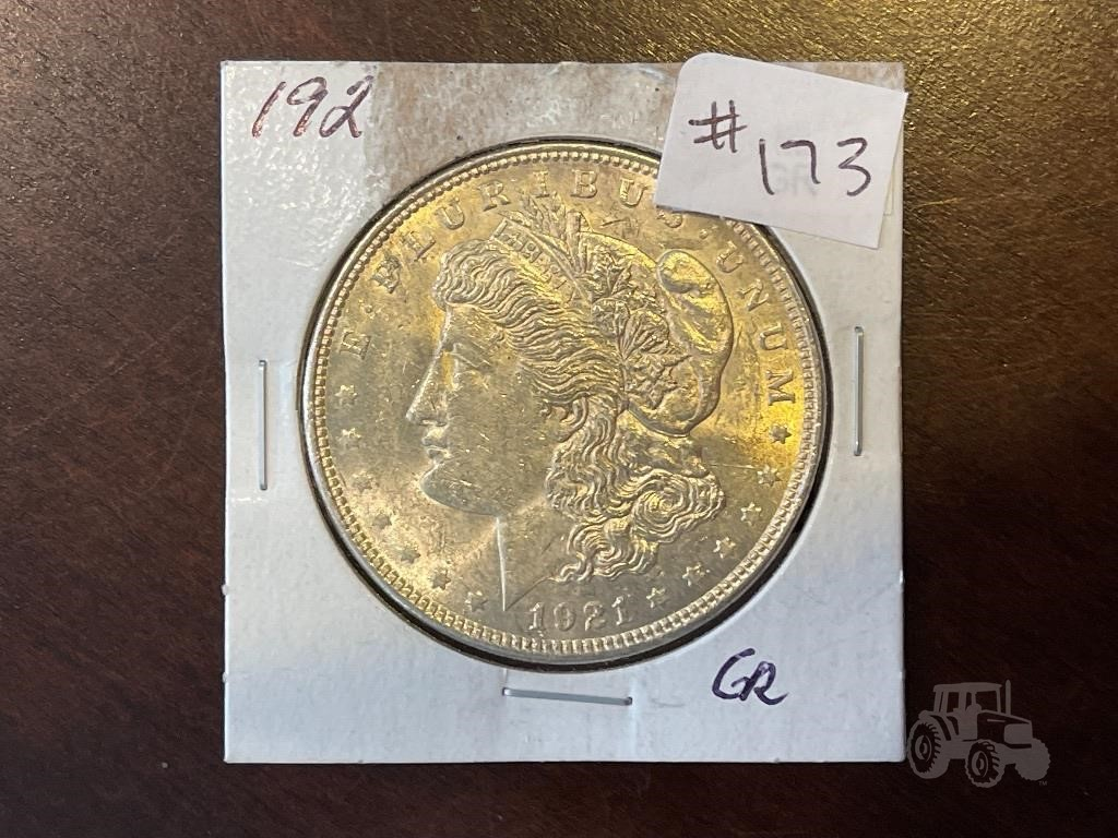 1921 Morgan Silver Dollar Other Items For Sale 10 Listings Tractorhouse Com Page 1 Of 1