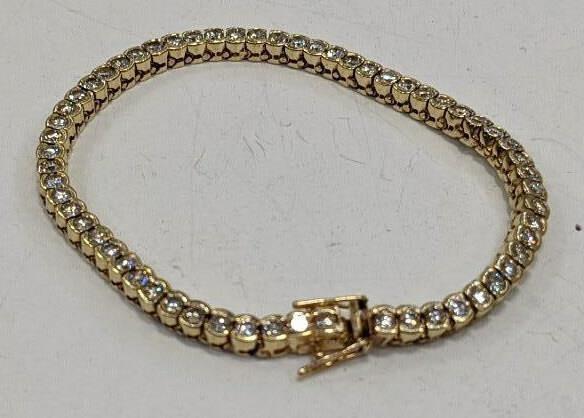 Ladies 14K 4.0 CTTW Diamond Bracelet