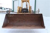"""1973 Ford """"445A"""" Tractor w/ Loader, Chains, Diesel"""