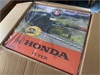 Lionel Honda Flyer train set