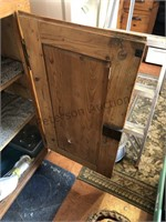 Primitive pantry cupboard
