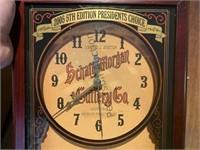 2005 Schatt & Morgan Cutlery Clock with Knife