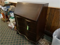 MaddoxClaw Foot Wave Front Secretary's Desk