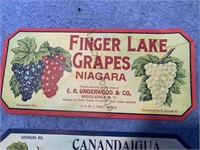 21 - Vintage Canning Labels