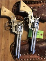 Vintage Pair of Nichols Stallion cap guns