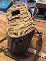 2 Vintage fishing creels