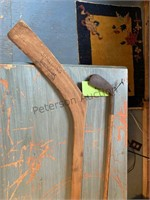 Wooden Handle Golf Club and Hockey Stick