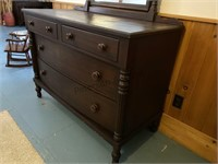 Sterling Mirror chest of drawers