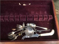 Contents of cabinet