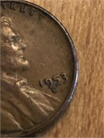1953D One Cent
