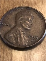 1955D One Cent