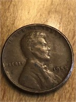 1955 One Cent