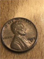 1957D One Cent
