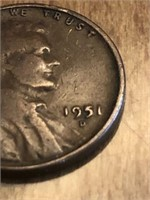 1951D One Cent