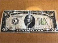 1934 Ten Dollar
