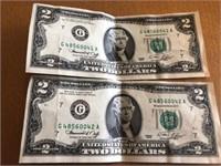 2 Pc. Two Dollar 041 & 042