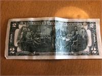 Two Dollar Bill 839A