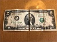 Two Dollar Bill 004A